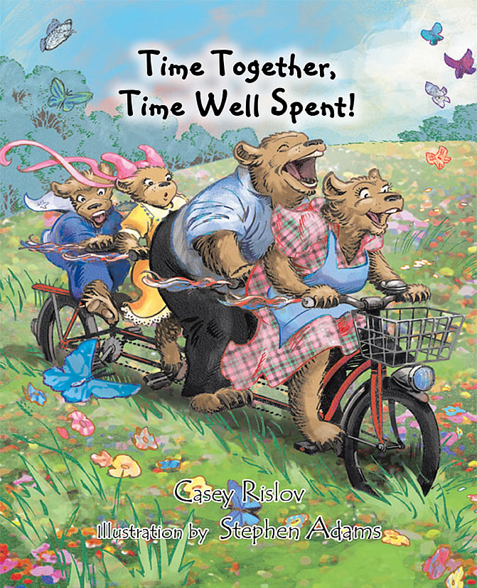 Time together time well spent childrens book
