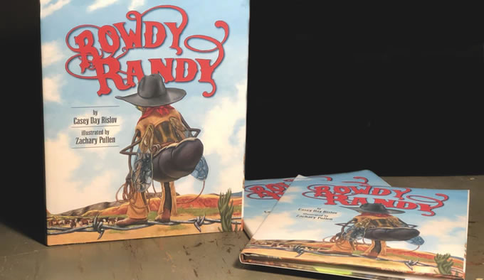 Signed Rowdy Randy Book